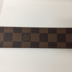 Louis Vuitton Accessories - Louis Vuitton Damier Ebene Women Belt
